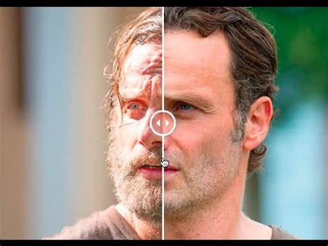 how to get your hair like rick grimes rick grimes the beard before and after shave youtube