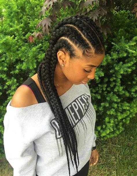 cute goddes braids for black women striking goddess braids hairstyles blackhairlab com