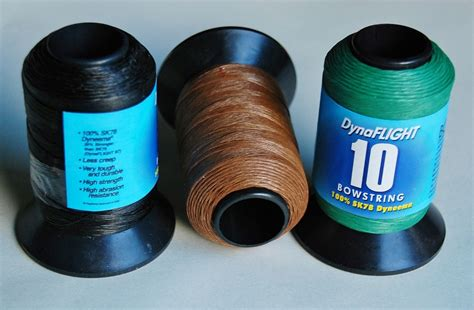 Materials For String - bcy dynaflight 10 bow string material flybow