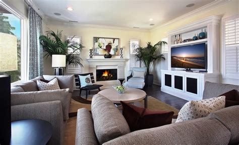 small living room with fireplace modern house