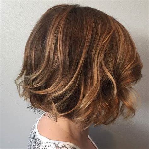 short brown hairstyles with carmel highlights 20 of the best bronde hair options