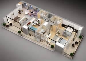 3 Bedroom Floor Plan Design 3 bedroom apartment house plans home design