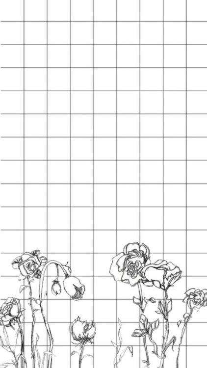 monochrome pattern tumblr transparent grid backgrounds tumblr