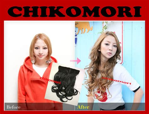 Rambut Sambung Hair Clip chikomori hair clip bearfully
