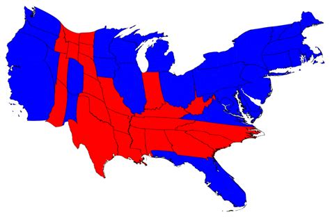 us map of presidential election results election maps