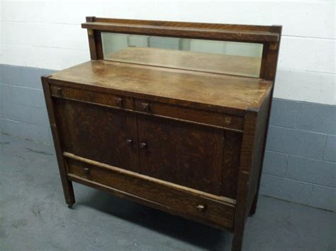 mission oak buffet mission oak sideboard antique images