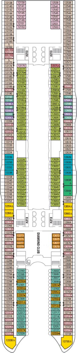 oasis of the seas floor plan oasis of the seas deck 12 deck plan oasis of the seas deck 12 deck layout