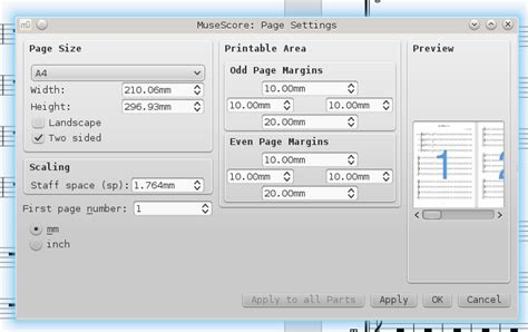 qt group box layout page layout large vs small notes musescore