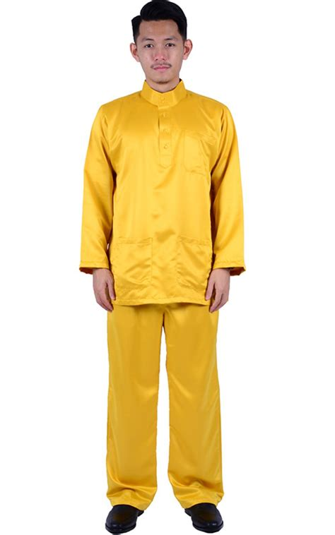 Shaper Baju Pembakar Lemak Shaper Baju baju melayu noah mustard baju melayu