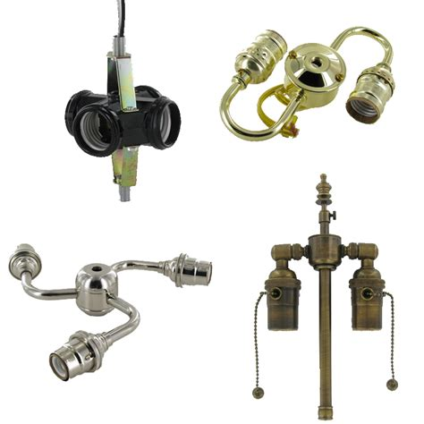 Light Fixture Components L Parts Lighting Parts Chandelier Parts L Socket Clusters Grand Brass L Parts Llc