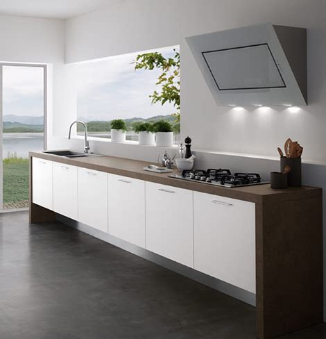 Kitchen Without Wall Cabinets | modern kitchens without upper cabinets by treo