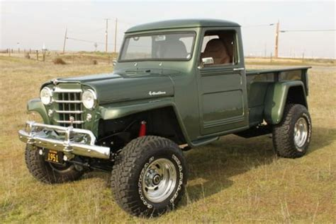 willys jeep truck green 1951 willys truck trucks jeeps cars and 4x4