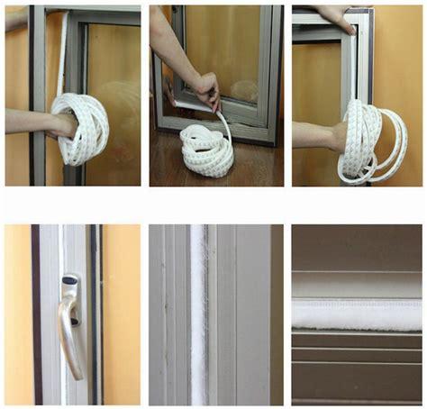 sliding doors seal self adhesive sealing felt draught excluder wool