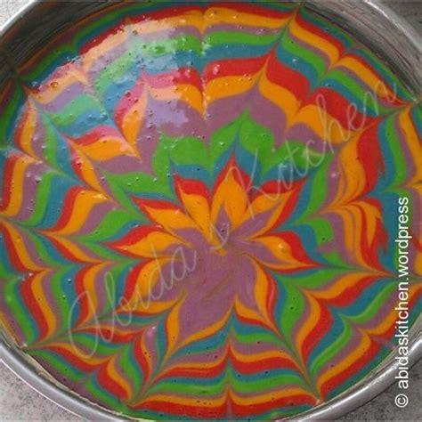 Regenbogen Kuche by Selbstgemachter Regenbogen Kuchen 4 3 5