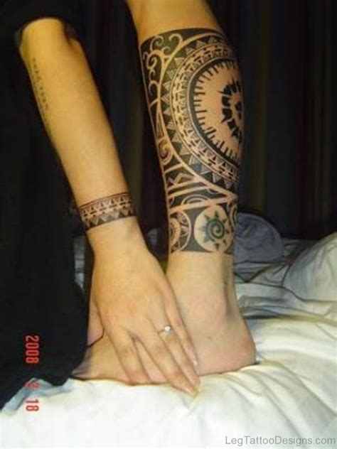 tribal tattoo designs legs 55 best tribal tattoos on leg