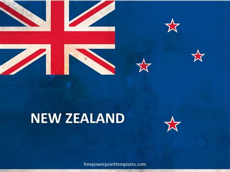 Free New Zealand Powerpoint Template New Powerpoint Themes