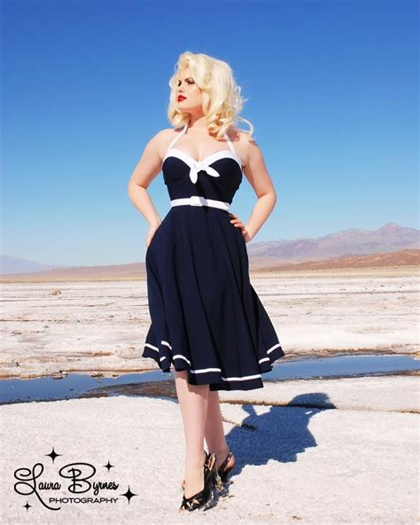 sailor swing dress sailor swing dress by pin up girl clothing rainy day