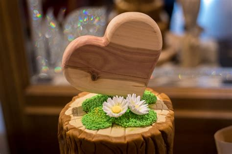 Hochzeitstorte Holz eine ganz besondere hochzeitstorte in holzoptik