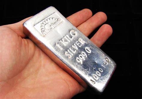 1 Kilo Silver Bar by One Kilo Silver 9999 Alghaith Silver Bar