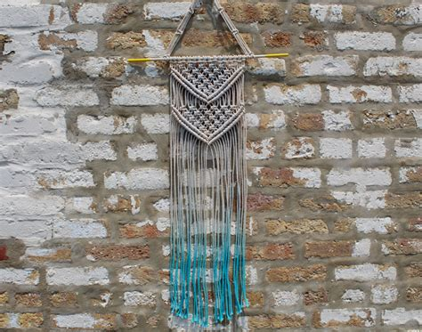 Macrame Design - 18 macram 233 wall hanging patterns guide patterns