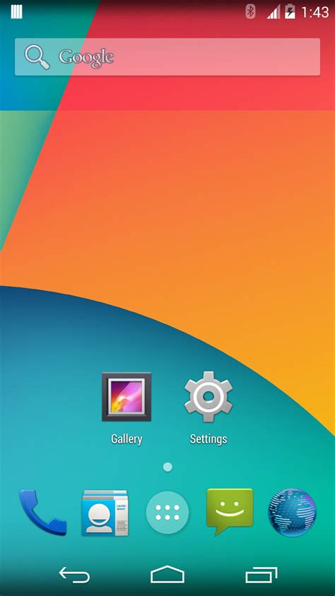 android snapshot aokp kitkat 4 4 2 nightlies are now available for various nexus galaxy one and xperia devices