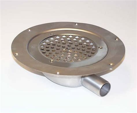 Low Profile Shower Drain For Solid Floors by Light Duty 281 Drain Floors Horizontal Outlet