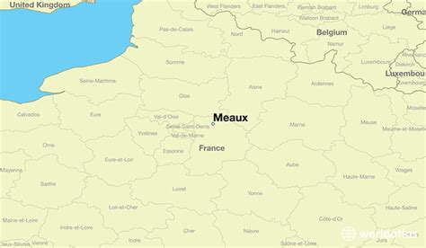 where is meaux where is meaux located