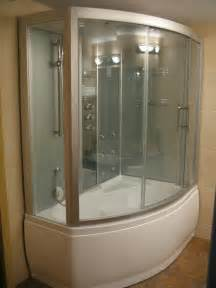 Clear Glass Bathtub Steam Shower Whirlpool Bathtub Da328f3 Perfect Bath Canada