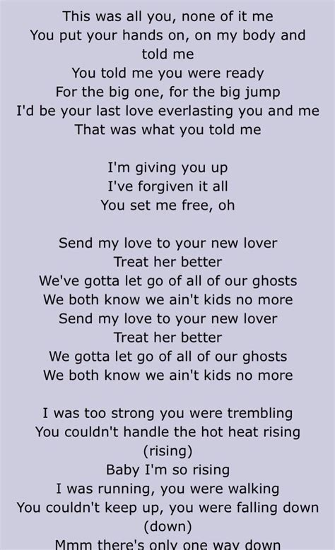 my lyrics adele send my lyrics the expert