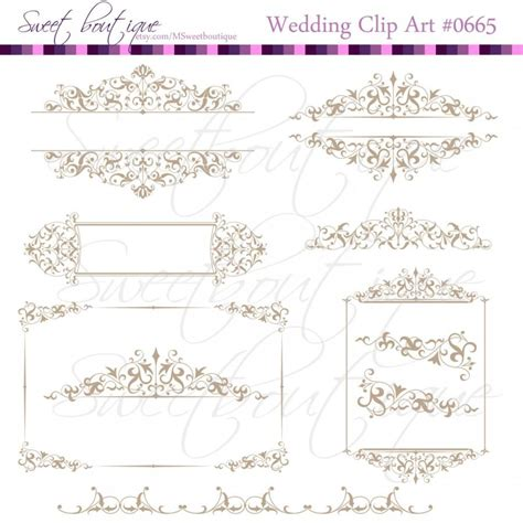 wedding clipart for invitations digital clipart invitation pencil and in color digital