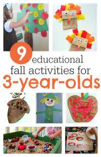 9 must do fall activities for 3 year olds no time for