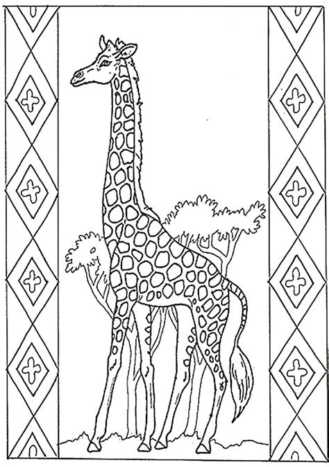 difficult giraffe coloring pages giraffe coloring pictures giraffe pictures you can color