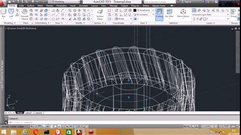 cara membuat na miring cara membuat roda gigi miring 3d autocad youtube