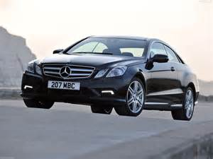 mercedes e class coupe uk 2010 pictures