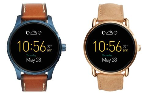 fossil s q wander and q marshal go up for preorder on august 12 android authority