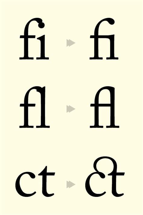 Typographic Marks Unknown Ii Ligatures Blockquotes