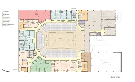arena floor plan event center plans and images facilities management umbc