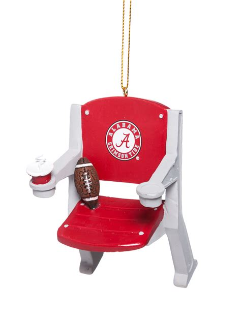 alabama crimson tide football stadium chair christmas