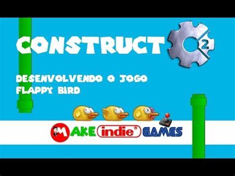 construct 2 tutorial flappy bird construct 2 desenvolvendo o jogo flappy bird parte 2