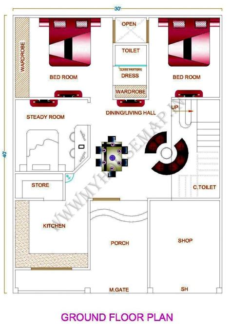 home design types d house map photos 30 40 house front