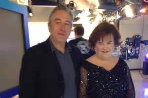 susan boyle marriage susan boyle and robert de niro get together on today show