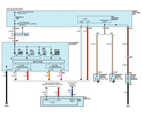 kia sorento abs wiring diagram k
