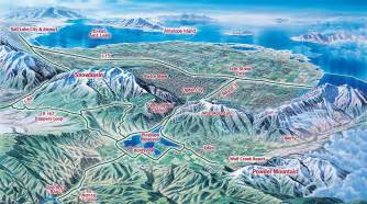 Utah Ski Resorts Map by Utah Ski Resorts Map Submited Images