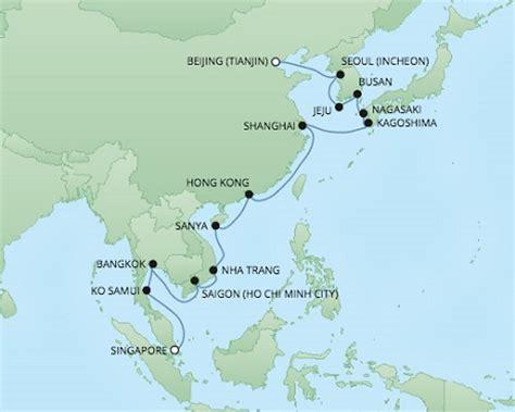 cruises hong kong to singapore regent cruises voyager december 5 17 2017