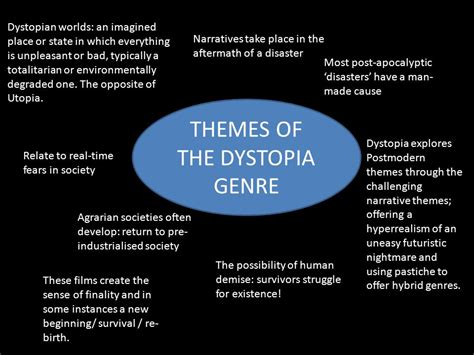 literature themes survival the dystopia genre ppt download
