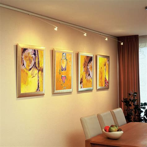 Track lighting systems STAS picture hanging systems