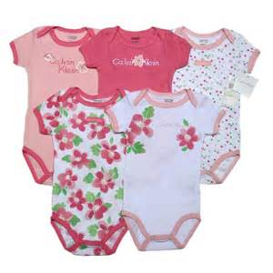 Infant Clothes Calvin Klein 5 In 1 Layette For Baby Gbck 63