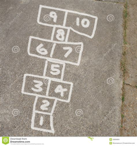 How To Draw Hopscotch