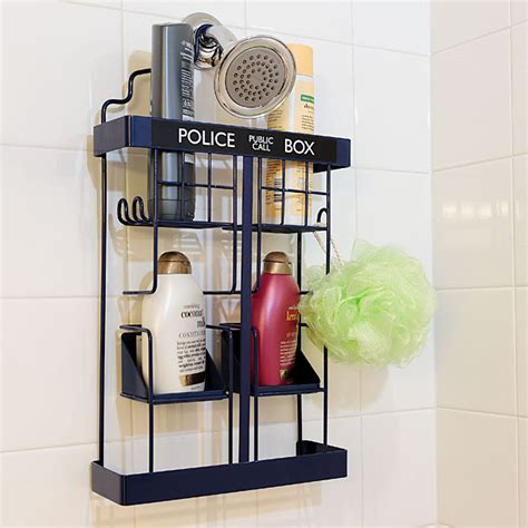 Rack Doctor by Doctor Who Tardis Shower Rack Take Paycheck Shut Up