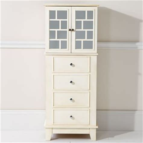 white mirror jewelry armoire jcpenney home